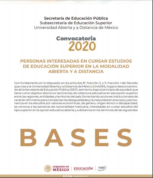 bases unadm 2020