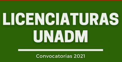 unadm convocatoria 2021