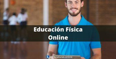 licenciatura en educación física a distancia