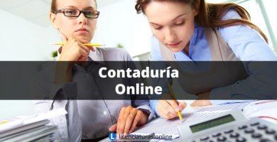licenciatura en contabilidad en línea sep